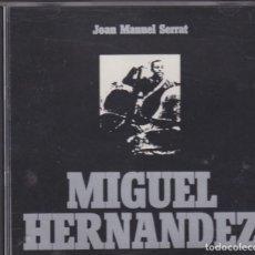 CDs de Música: JOAN MANUEL SERRAT - MIGUEL HERNANDEZ - CD. Lote 218193061