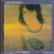 CDs de Música: JOAN MANUEL SERRAT - MEDITERRÁNEO - CD. Lote 218193173