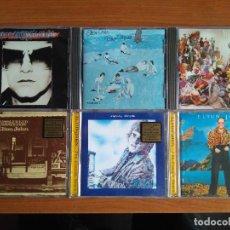 CDs de Música: ELTON JOHN LOTE 6 CDS DJM CARIBOU BLUE MOVES REG STRIKES BACK EMPTY SKY TUMBLEWEED CONNECTION VICTIM. Lote 174498019