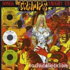 CDs de Música: VARIOUS ?– SONGS THE CRAMPS TAUGHT US - VOLUME TWO OSCURO CD PROHIBIDO EN DISCOGS. Lote 218213157