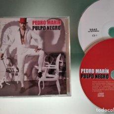 CDs de Musique: PEDRO MARIN - PULPO NEGRO EDICIÓN ESPECIAL DOBLE CD CD 1 NORMAL CD 2 PARTY MIX. Lote 218237600