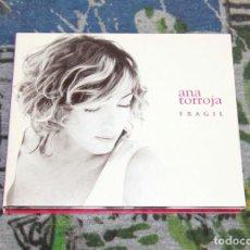 CDs de Música: ANA TORROJA - FRÁGIL - DIGIPACK EDITION - 74321960232 - ARIOLA / BMG - CD. Lote 54751540