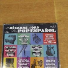 CDs de Música: CD LAS DÉCADAS DE ORO DEL POP ESPAÑOL, VOL1. Lote 218243887