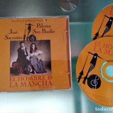CDs de Música: EL HOMBRE DE LA MANCHA / JOSÉ SACRISTÁN, PALOMA SAN BASILIO 2CD - MUSICAL. Lote 218245291