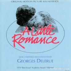 CDs de Música: A LITTLE ROMANCE / GEORGES DELERUE CD BSO. Lote 218252371