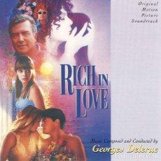 CDs de Música: RICH IN LOVE / GEORGES DELERUE CD BSO. Lote 218252502