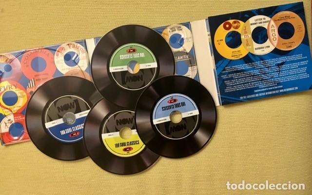 CDs de Música: 100 SOUL CLASSICS - BOX 4 CDs - ARETHA FRANKLIN, SAM COOKE, THE SUPREMES, MARVIN GAYE, OTIS REDDING - Foto 2 - 218253188