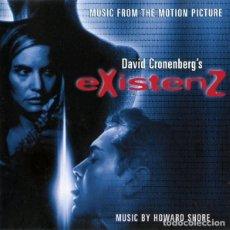 CDs de Música: EXISTENZ / HOWARD SHORE CD BSO. Lote 218253670