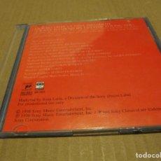CDs de Música: ANA GABRIEL & JON SECADA QUIERO VIVIR LA VIDA AMANDOTE TEMA DE LA PELICULA ZORRO CD SINGLE PROMO. Lote 218256913