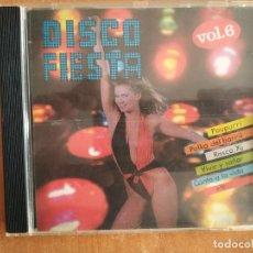 CDs de Música: DISCO FIESTA VOL. 6. SIBONEY ORQUESTA. POUPURRI. POLKA DEL BARRIL. RASCA YU. DIAL DISCOS. AÑO 1992. Lote 218265346