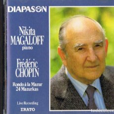 CDs de Música: FRÉDÉRIC CHOPIN RONDO OP 5 24 MAZURKAS (CD). Lote 218275023