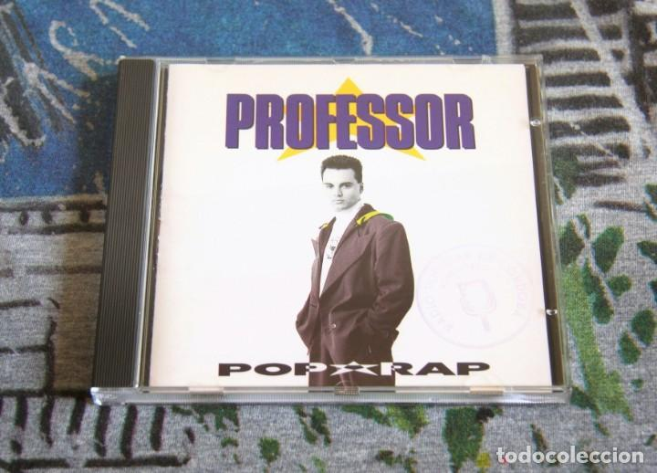 PROFESSOR POP - RAP - 7962272 - EMI-ODEON - REBELDES SIN PAUSA - CD - 1990 (Música - CD's Hip hop)