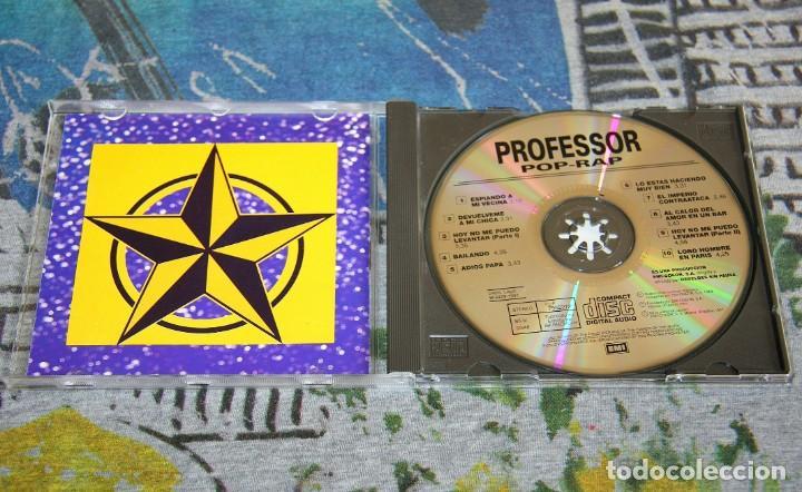 CDs de Música: Professor Pop - Rap - 7962272 - EMI-ODEON - REBELDES SIN PAUSA - CD - 1990 - Foto 2 - 162578654