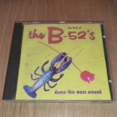 CDs de Música: THE BEST OF THE B-52'S CD DANCE THIS MESS ARUOND. Lote 218292870
