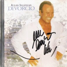 CDs de Música: JULIO IGLESIAS ¨DIVORCIO¨ (CD). Lote 218297101