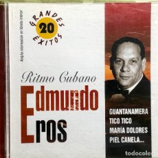 CDs de Música: EDMUNDO EROS - RITMO CUBANO. Lote 218302995