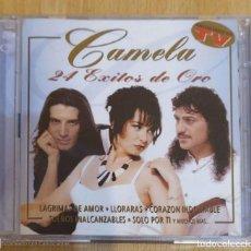 CDs de Música: CAMELA (24 EXITOS DE ORO) 2 CD'S 2000. Lote 218310513