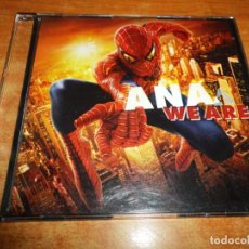 CDs de Música: ANA JOHNSSON WE ARE BANDA SONORA SPIDERMAN 2 CD SINGLE PROMO 2004 AUSTRIA 1 TEMA + 1 VIDEO. Lote 218311776