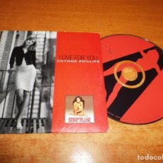 CDs de Música: CHYNNA PHILLIPS I LIVE FOR YOU BANDA SONORA STRIPTEASE CD SINGLE 1996 HOLANDA CARTON 2 TEMAS. Lote 218312638