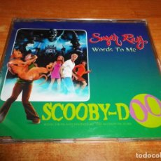 CDs de Música: SUGAR RAY WORDS TO ME BANDA SONORA SCOOBY-DOO CD SINGLE PROMO 2002 ESPAÑA 1 TEMA. Lote 218313255