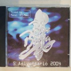 CDs de Música: BLUE BAHIA 5º ANIVERSARIO 2004 DJ MAX - RECOPILATORIO - DISCOTECA BLUE BAHIA SALOU. Lote 218314481
