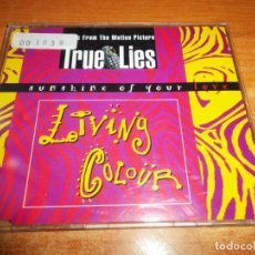 CDs de Música: LIVING COLOUR SUNSHINE OF YOUR LOVE BANDA SONORA TRUE LIES CD SINGLE 1994 CONTIENE 4 TEMAS. Lote 218315092