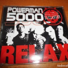 CDs de Música: POWERMAN 5000 RELAX BANDA SONORA ZOOLANDER CD SINGLE PROMO 2001 ALEMANIA 1 TEMA. Lote 218316988