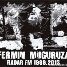 CDs de Música: FERMIN MUGURUZA – RADAR FM 1999.2013 CD, ALBUM, COMPILATION ELECTRONIC, HIP HOP, ROCK, REGGAE, FUNK. Lote 218317182