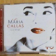 CDs de Música: MARIA CALLAS (LA VOZ DEL SIGLO) 2 CD'S 1997. Lote 218324701