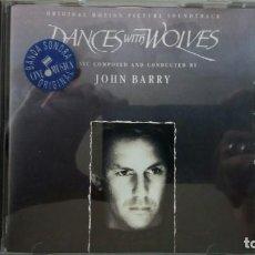 CDs de Música: CD B.S.O. BAILANDO CON LOBOS. Lote 218330173