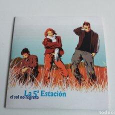 """CDs de Música: SINGLE CD LA QUINTA ESTACION """"EL SOL NO REGRESA PROMOCIONAL. Lote 218334035"""