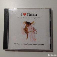 CDs de Música: I LOVE IBIZA. TRENDY DANCE AND LOUNGE TUNES. CD. TDKCD31. Lote 218356407