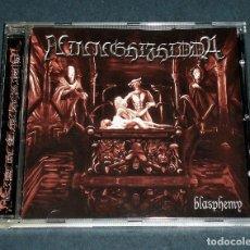 "CDs de Musique: CD NINNGHIZHIDDA ""BLASPHEMY"". Lote 218369631"