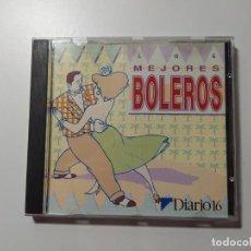 CDs de Música: LOS MEJORES BOLEROS DIARIO 16 CD. TDKCD31. Lote 218370365