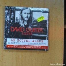 CDs de Música: DAVID GHETTA - LISTEN - CD + DVD. Lote 218389372