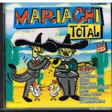 CDs de Música: MARIACHI TOTAL - CD 1997. Lote 218394907