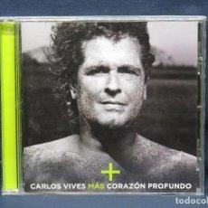 CDs de Música: CARLOS VIVES - MAS CORAZON PROFUNDO - CD. Lote 218400960