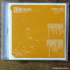 CDs de Música: ZEN RMX, REMIX RETROSPECTIVE - DOBLE CD - 2004 - NINJATUNE, TRIP HOP, DOWNTEMPO, RECOPILACIÓN. Lote 218401938