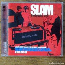 CDs de Música: SLAM, THE BREAKS ON - VOL. 2 - DOBLE CD - 2004 - FUNK, RECOPILACIÓN, KRAFTY KUTS. Lote 218402556