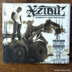 CDs de Música: XZIBIT - WEAPONS OF MASS DESTRUCTION - CD Y DVD - 2004 - HIP HOP, RAP - GANGSTA. Lote 218405623