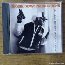 CDs de Música: BOOGIE DOWN PRODUCTIONS - BY ALL MEANS NECESSARY (1988) - 2003 - HIP HOP, RAP. Lote 218407468
