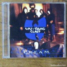 CDs de Música: WU-TANG CLAN - C.R.E.A.M. / DA MISTERY OF CHESSBOXIN - EDIT, A CAPELLA, INSTRUMENTAL - 1994 - CREAM. Lote 218416220