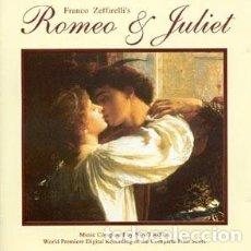 CDs de Música: ROMEO Y JULIETA - ROMEO AND JULIET MÚSICA COMPUESTA POR NINO ROTA. Lote 218421726