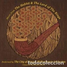 CDs de Música: MUSIC FROM THE HOBBIT & THE LORD OF THE RINGS MÚSICA COMPUESTA POR HOWARD SHORE. Lote 218421811