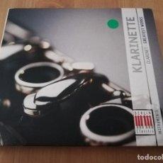 CDs de Música: KLARINETTE. GREATEST WORKS (2 CD). Lote 218424345