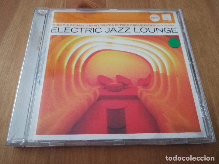 ELECTRIC JAZZ LOUNGE (CD) (Música - CD's Jazz, Blues, Soul y Gospel)
