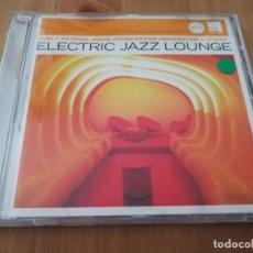CDs de Música: ELECTRIC JAZZ LOUNGE (CD). Lote 218424481