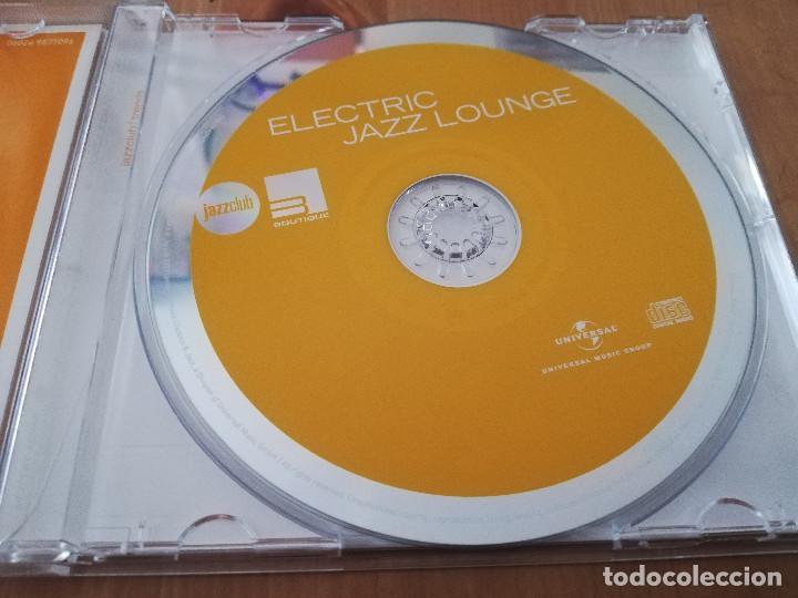 CDs de Música: ELECTRIC JAZZ LOUNGE (CD) - Foto 2 - 218424481