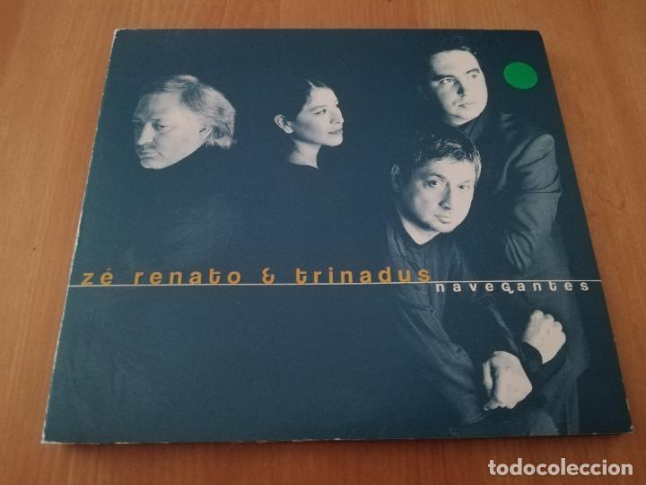 ZÉ RENATO & TRINADUS. NAVEGANTES (CD) (Música - CD's Jazz, Blues, Soul y Gospel)