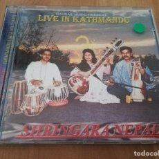 CDs de Música: LIVE IN KATHMANDU. SHRINGARA NEPAL (CD). Lote 218427360
